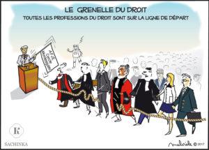 Le Grenelle du droit : toutes les professions du droit sont sur la ligne de départ.