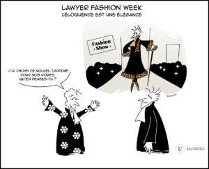 Lawyer fashion week : l'éloquence est une élégance